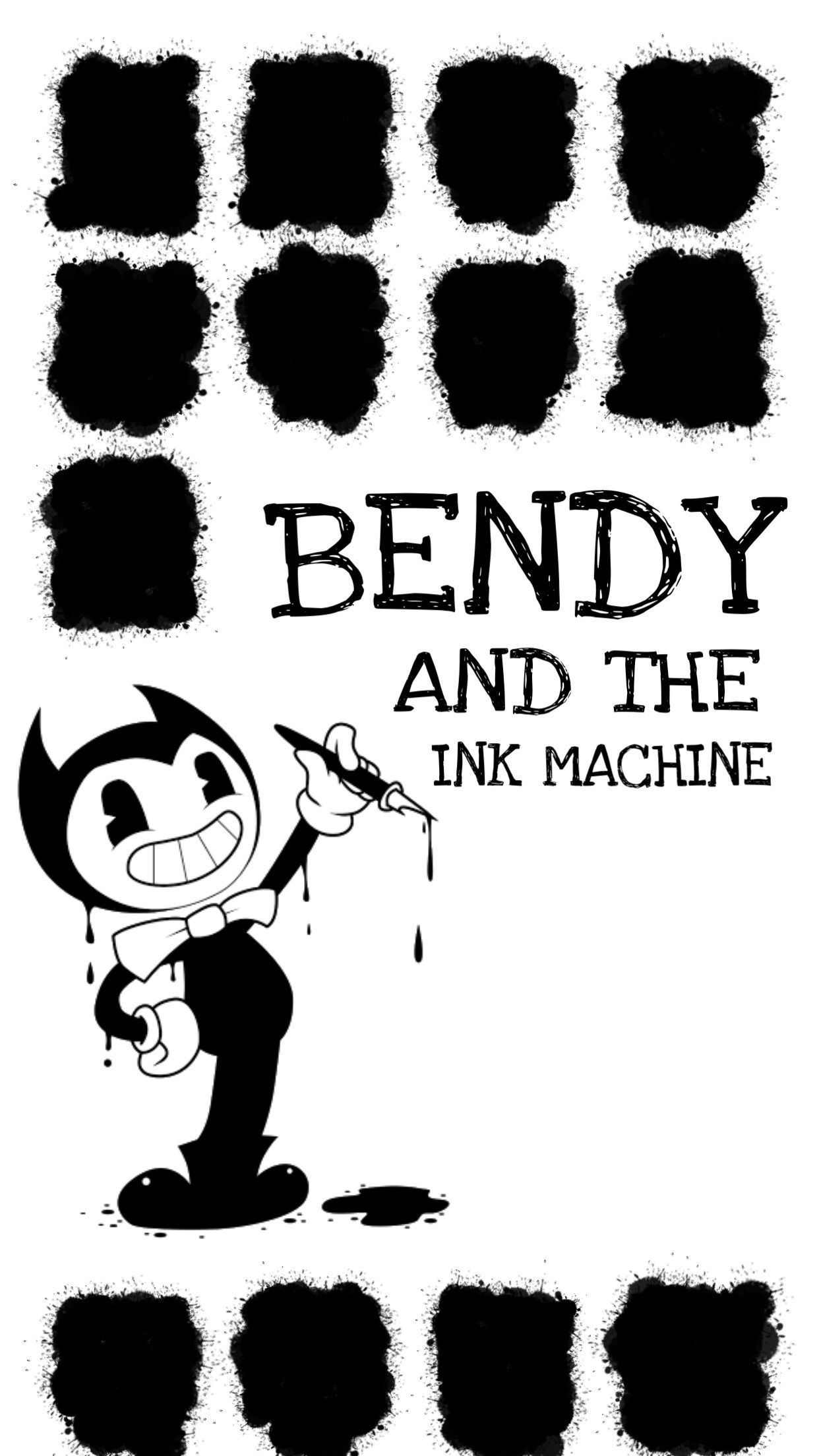 22 lego bendy and the ink machine