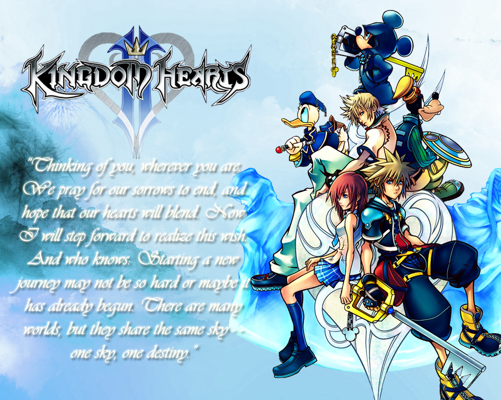 Kingdom Hearts 2 Wallpaper 2 by CrossDominatriX5 1000x800