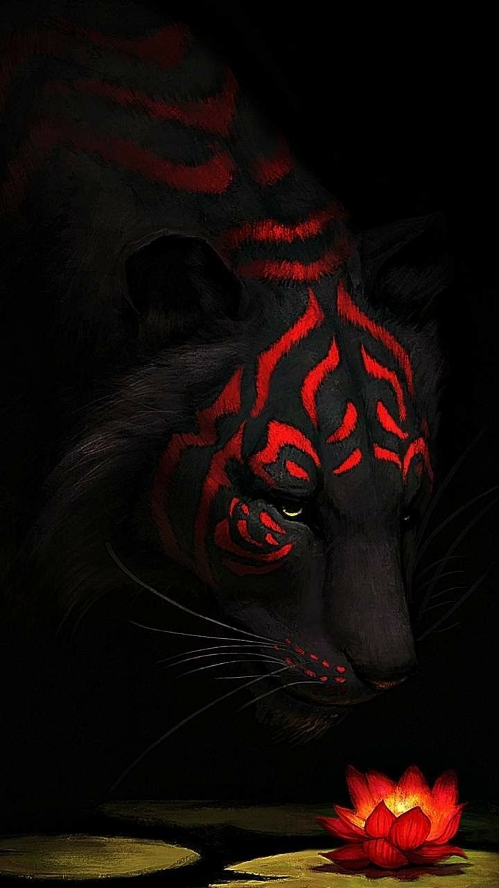 Red Tiger Wallpapers   Top Red Tiger Backgrounds 720x1280
