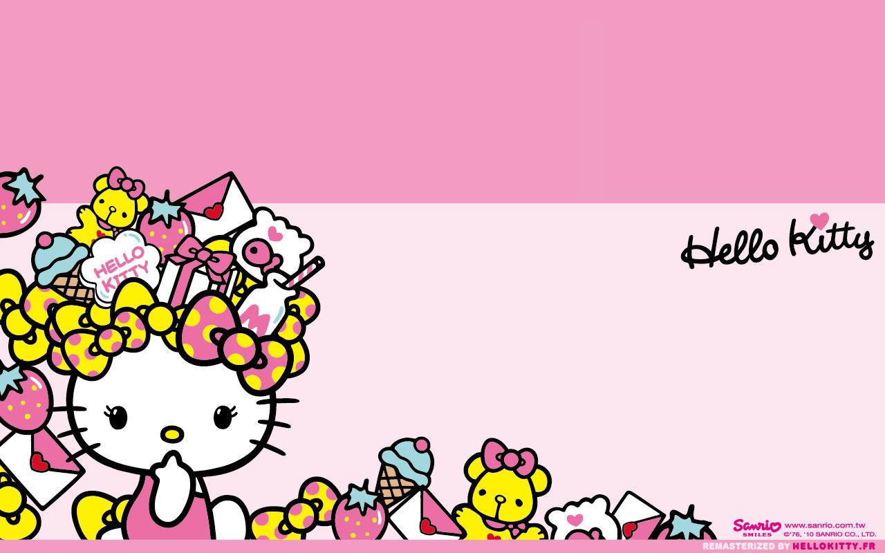 Wallpapers Fonds dcran Hello Kitty 1280x800