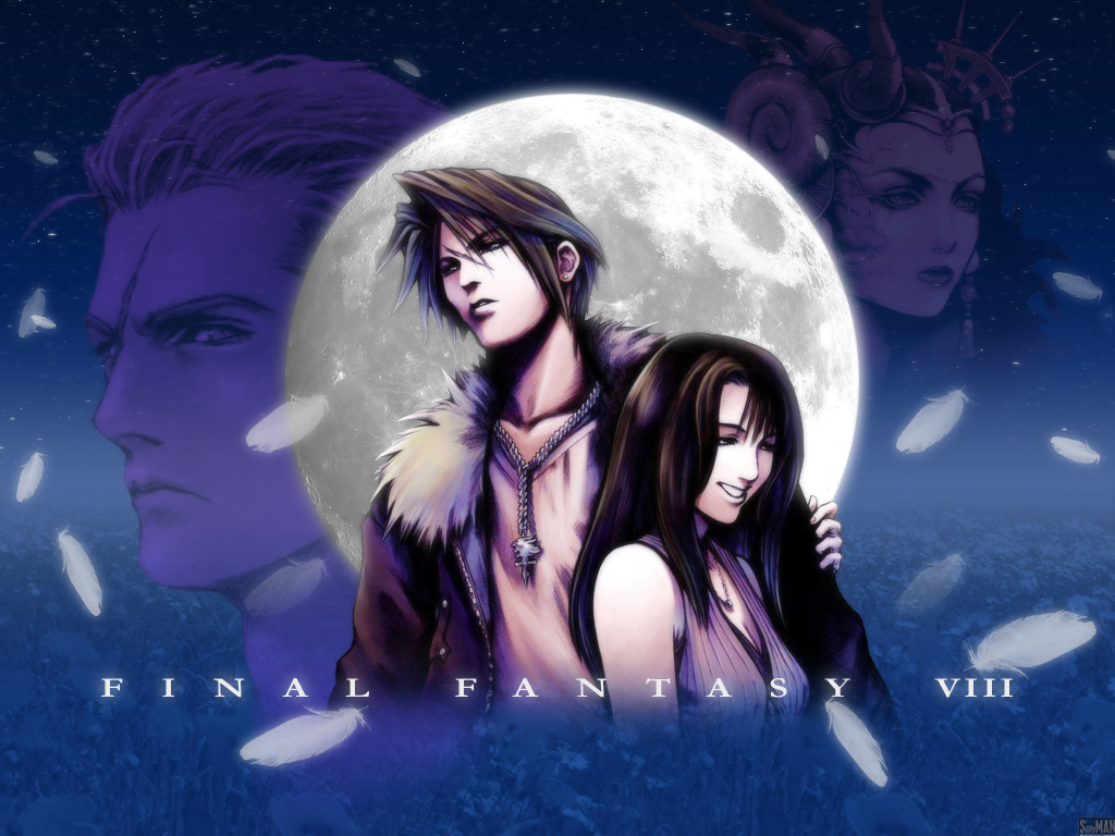 Final fantasy8 blurr love wall SIMPLE LOGO 1024x768