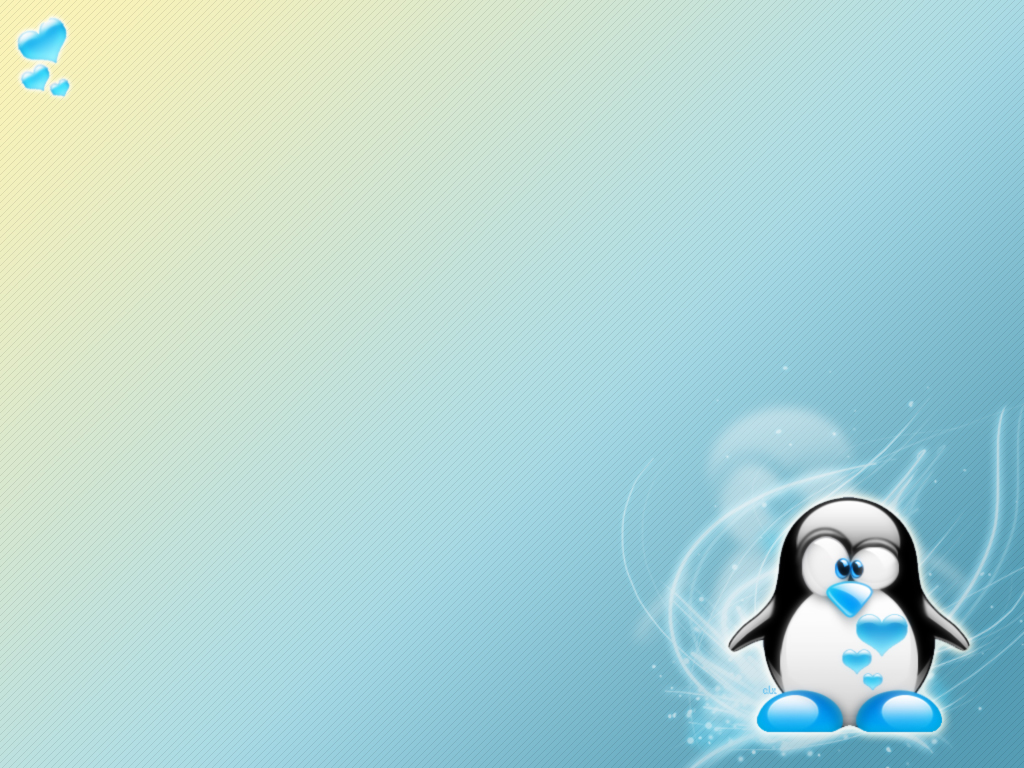 Wallpaper background wallpaper Edited image of cute penguin 1024x768