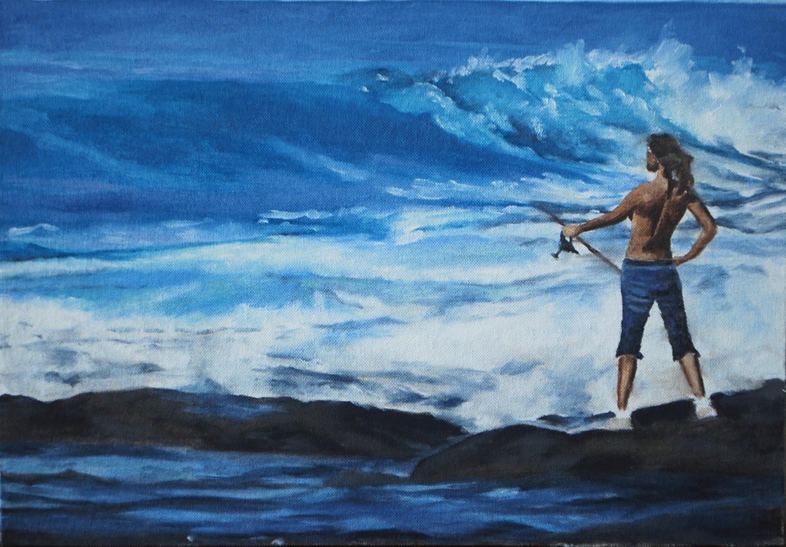 Surf fishing wallpaper wallpapersafari for Sound bound fishing