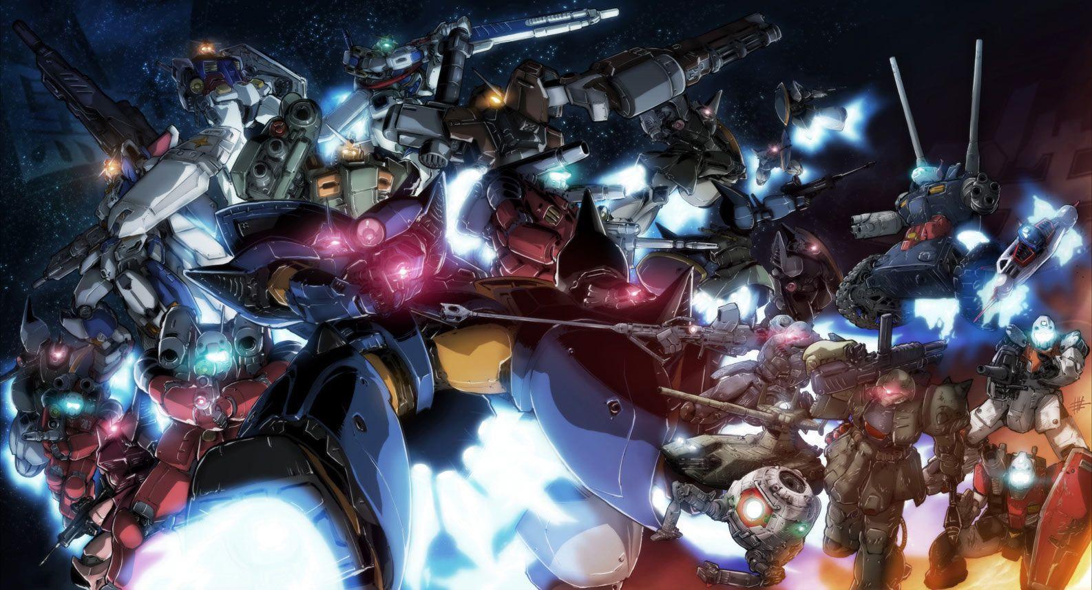 Mobile Fighter G Gundam Wallpapers 1586x857