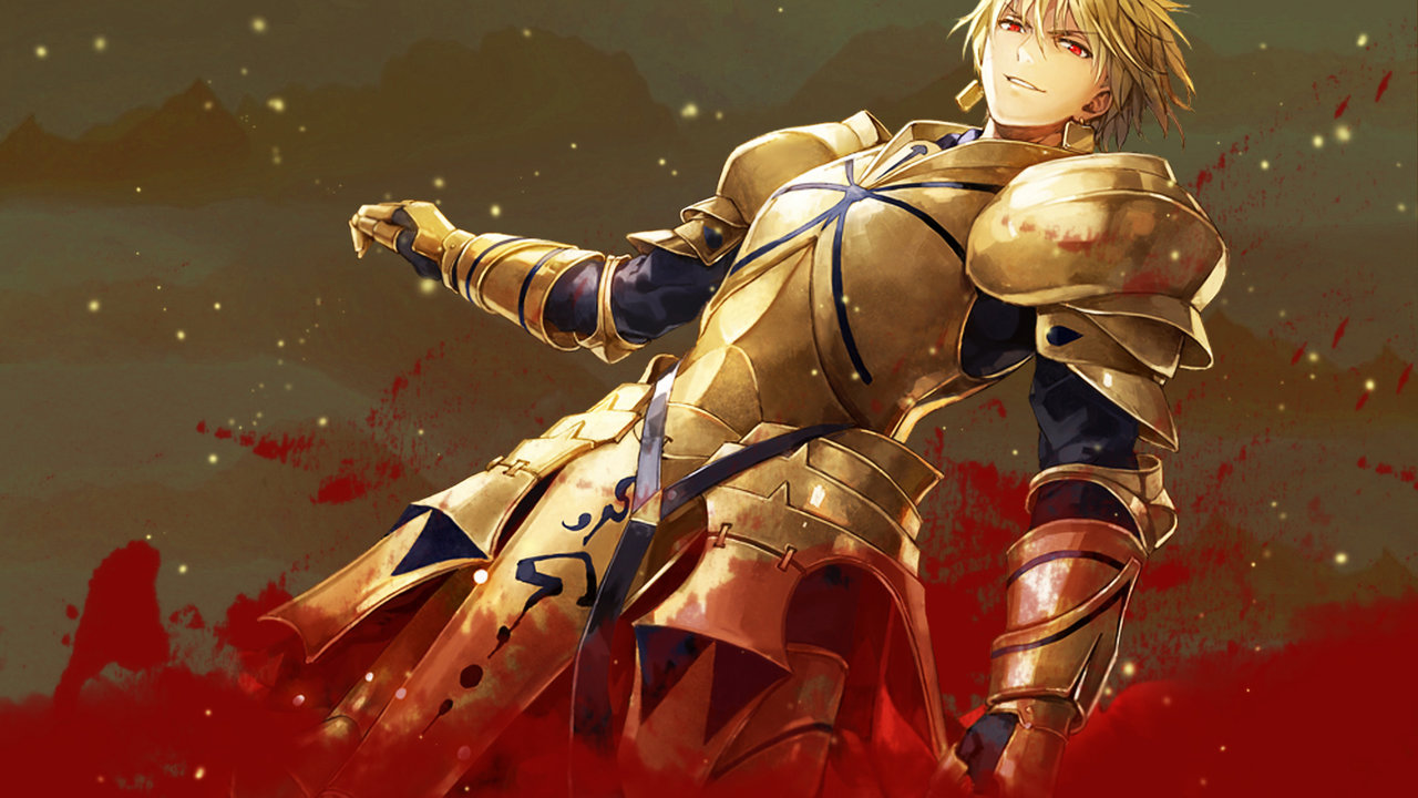 Gilgamesh Wallpaper 2 by ng9NGSim3Fate Stay Night Fate Zero 1280x720
