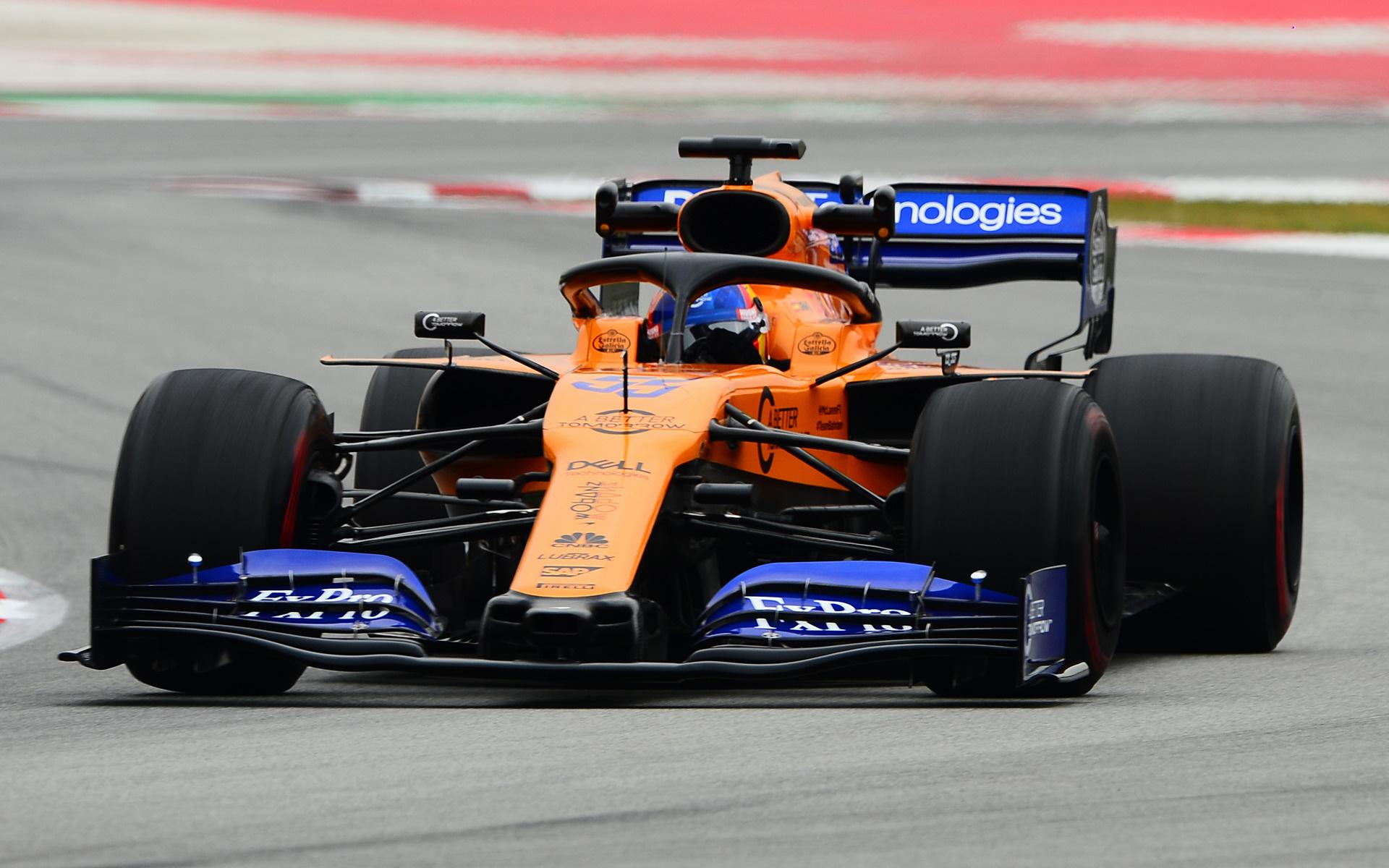 Chiếc xe MCL34 được thử nghiệm rất kỹ càng trước khi bước vào cuộc đua F1