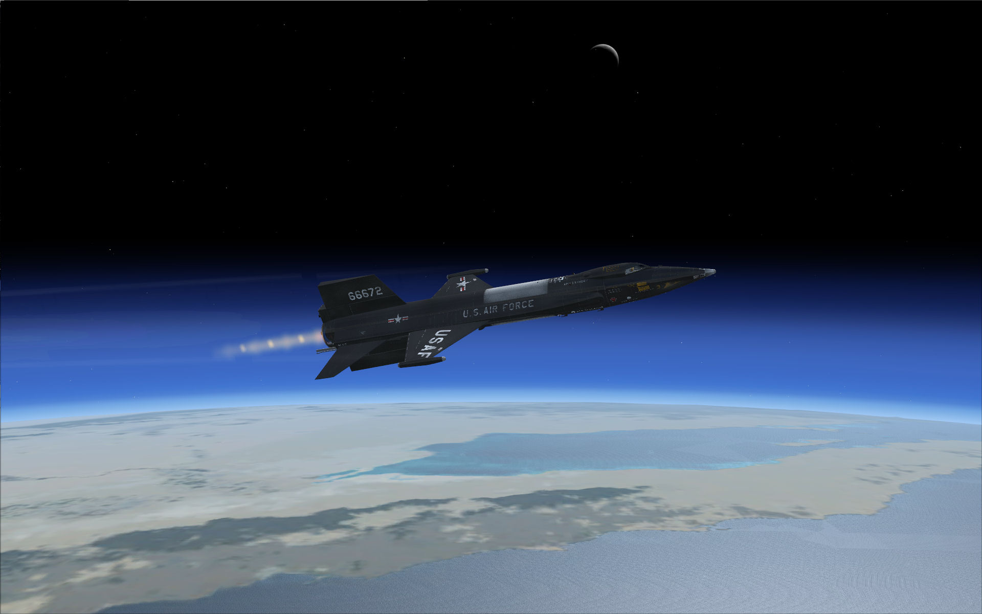 Free download Hypersonic in Microsoft Flight Simulator X