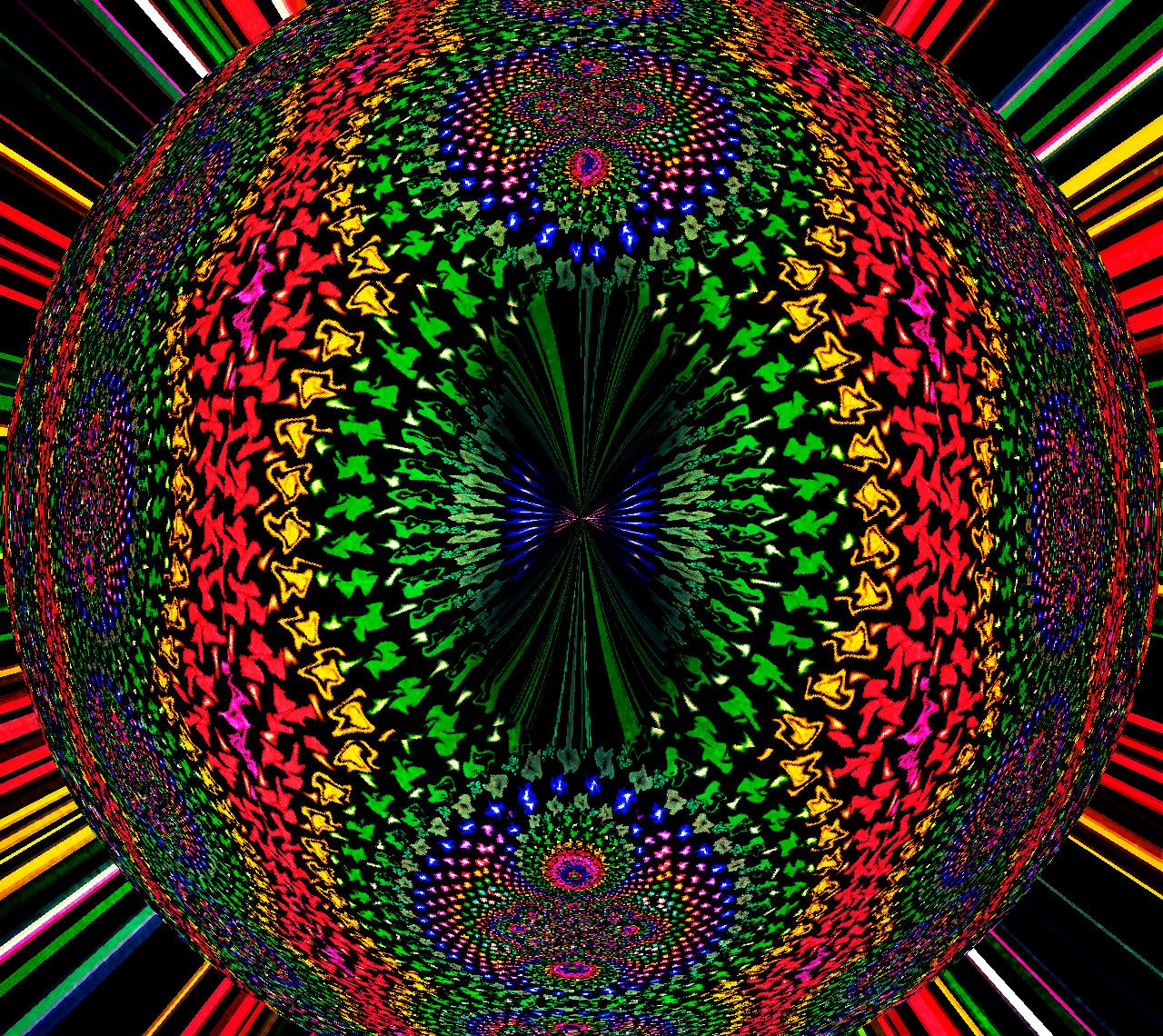 Trippy Live Wallpaper: 3D Psychedelic Wallpaper