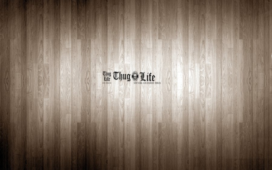 awesome thug life old wood wallpaper by defrd wallpapers55com 900x563