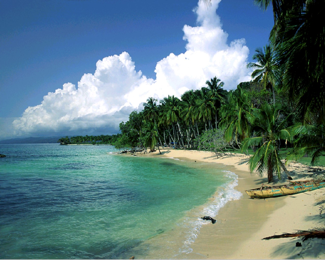 beach is a geological landform along the shoreline of a body of 1280x1024