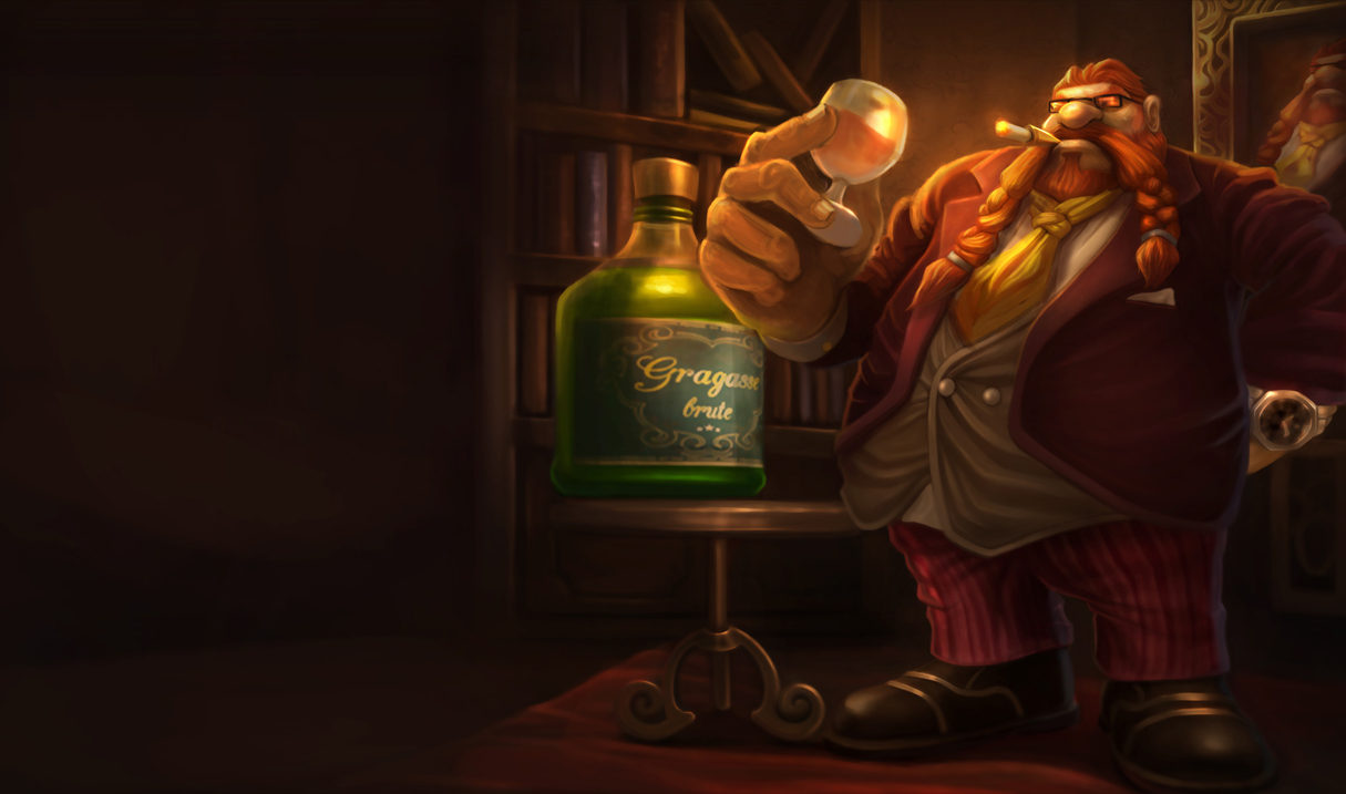 Gragas   League of Legends Wallpapers 1215x717