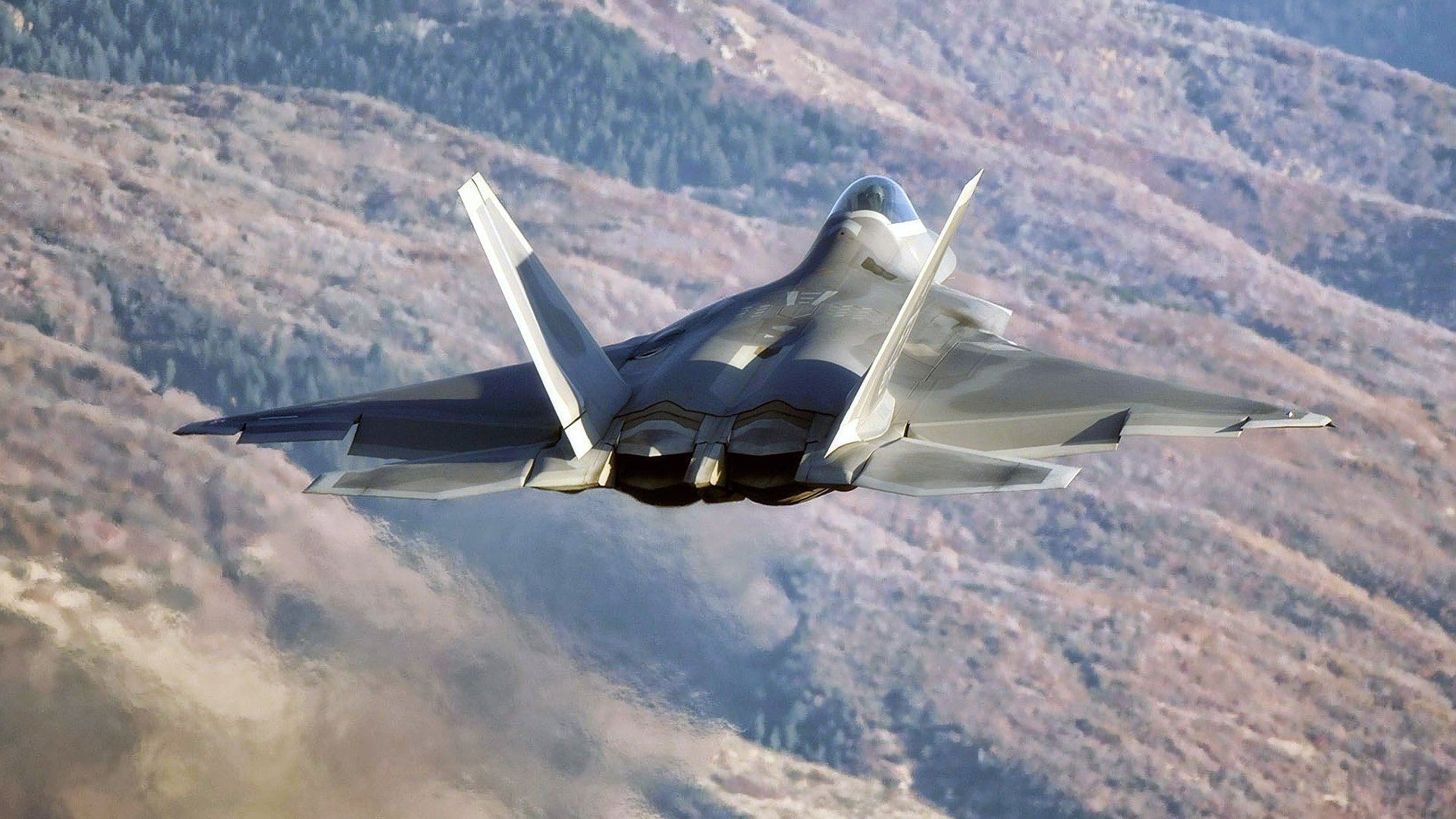 22 Flight force Military raptor weapons wallpaper background 1920x1080
