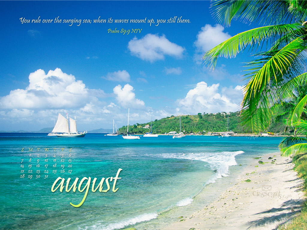 Wallpaper Crosscards Wallpaper Monthly Calendars View Original 1024x768