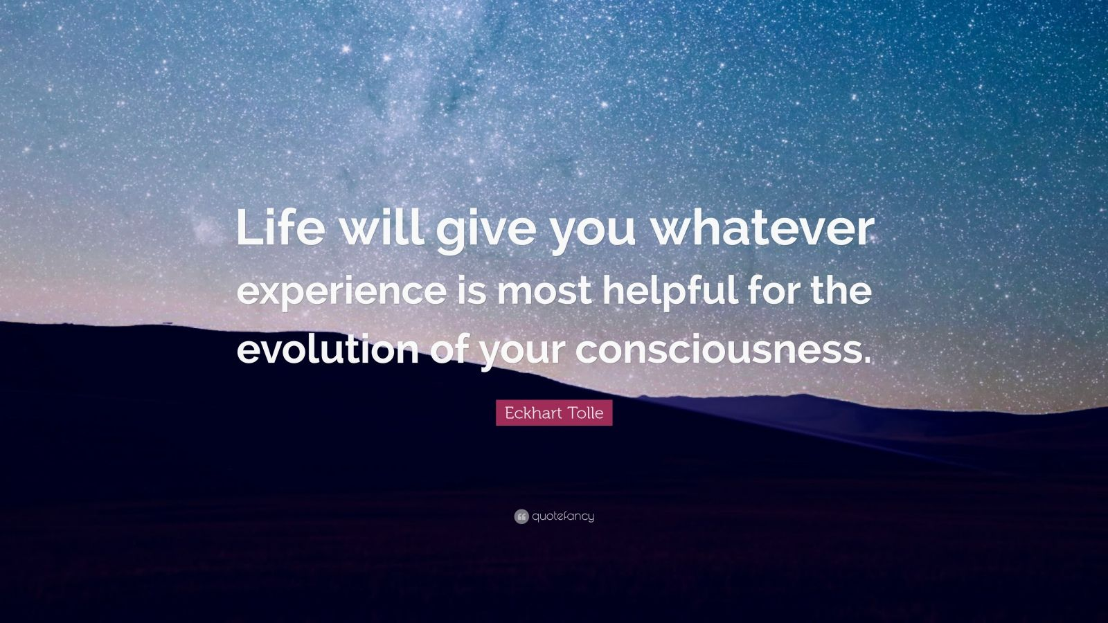 eckhart tolle quote life 1600x900