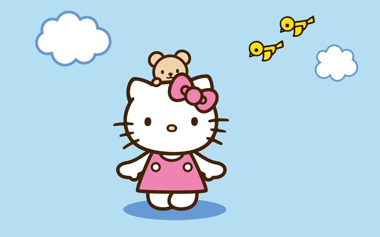Hello Kitty Sunshine Wallpapers, HD Wallpaper Downloads