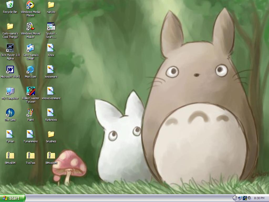 [46+] My Neighbor Totoro HD Wallpaper on WallpaperSafari
