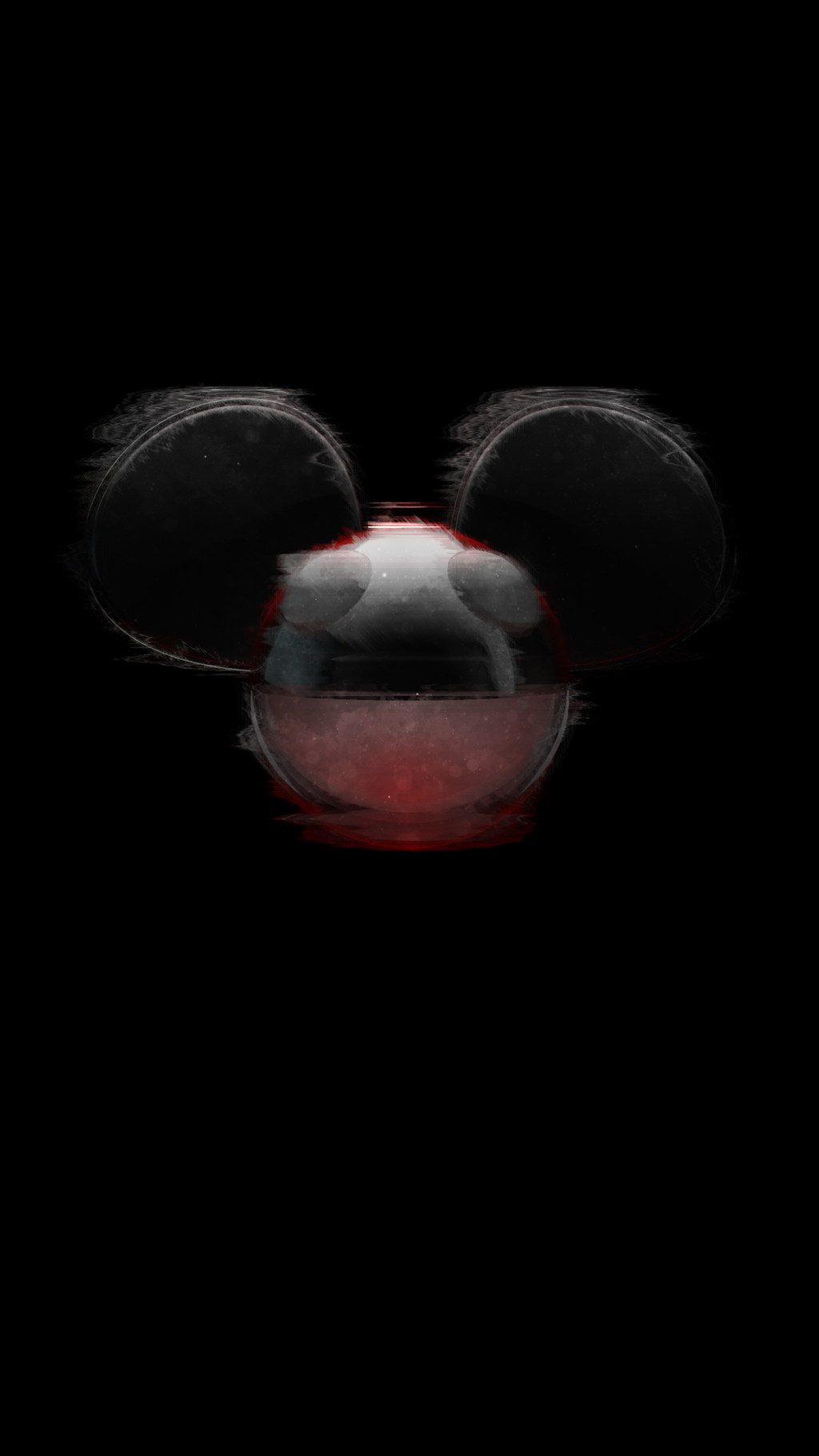 Deadmau5 Phone wallpaper thing by Omnipotent Duck on 1024x1820