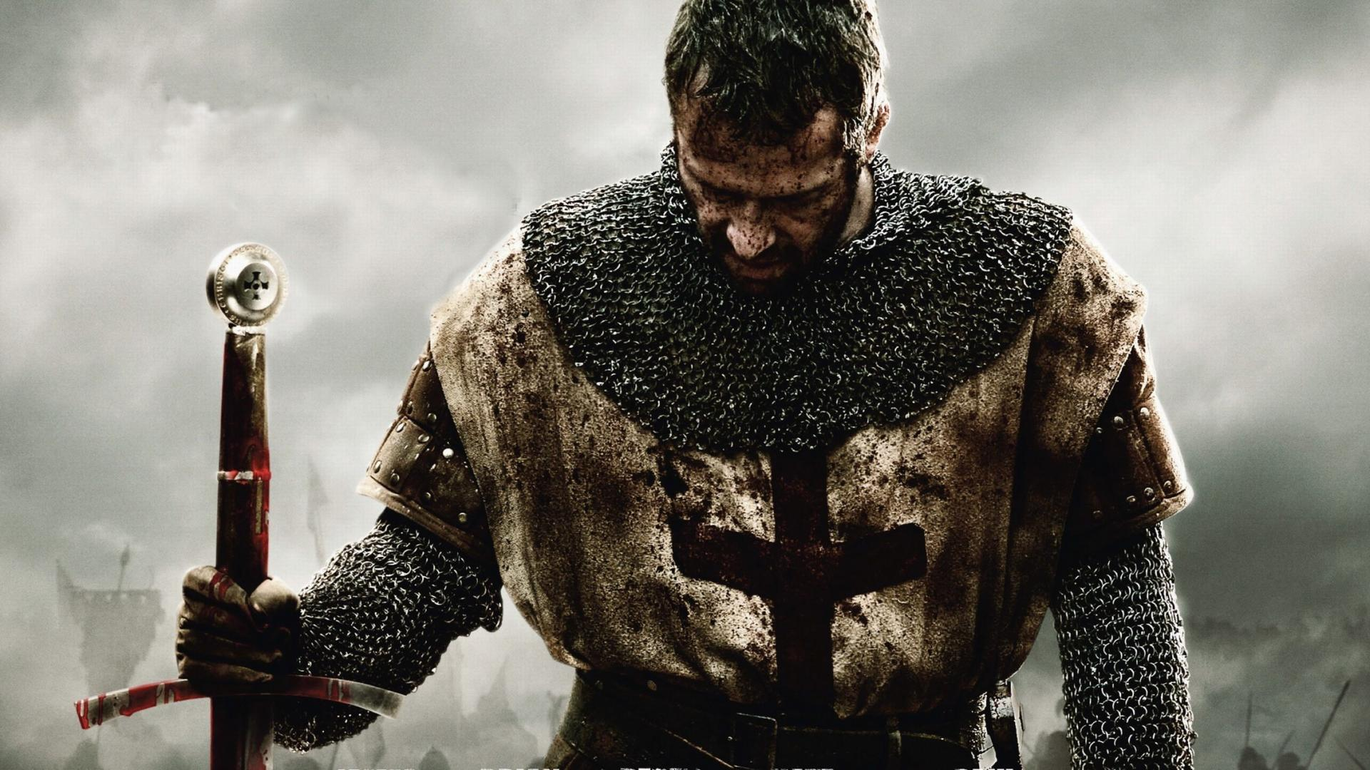 Ironclad Knight Medieval Sword Armor Blood James Purefoy wallpaper 1920x1080