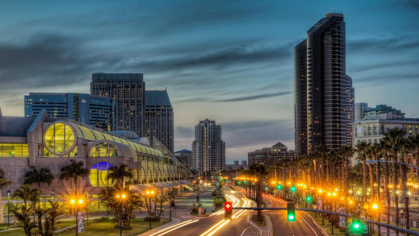 San Diego HD Wallpapers 1366x768