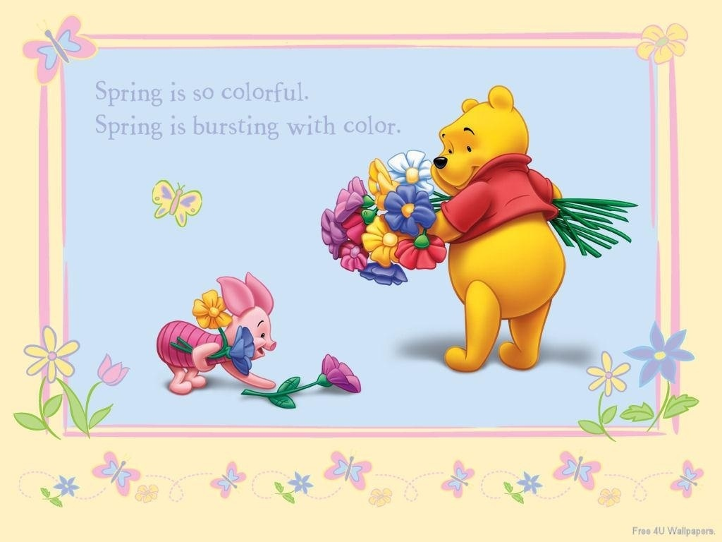 Winnie The Pooh   Animalation Wallpaper 2309910 1024x768