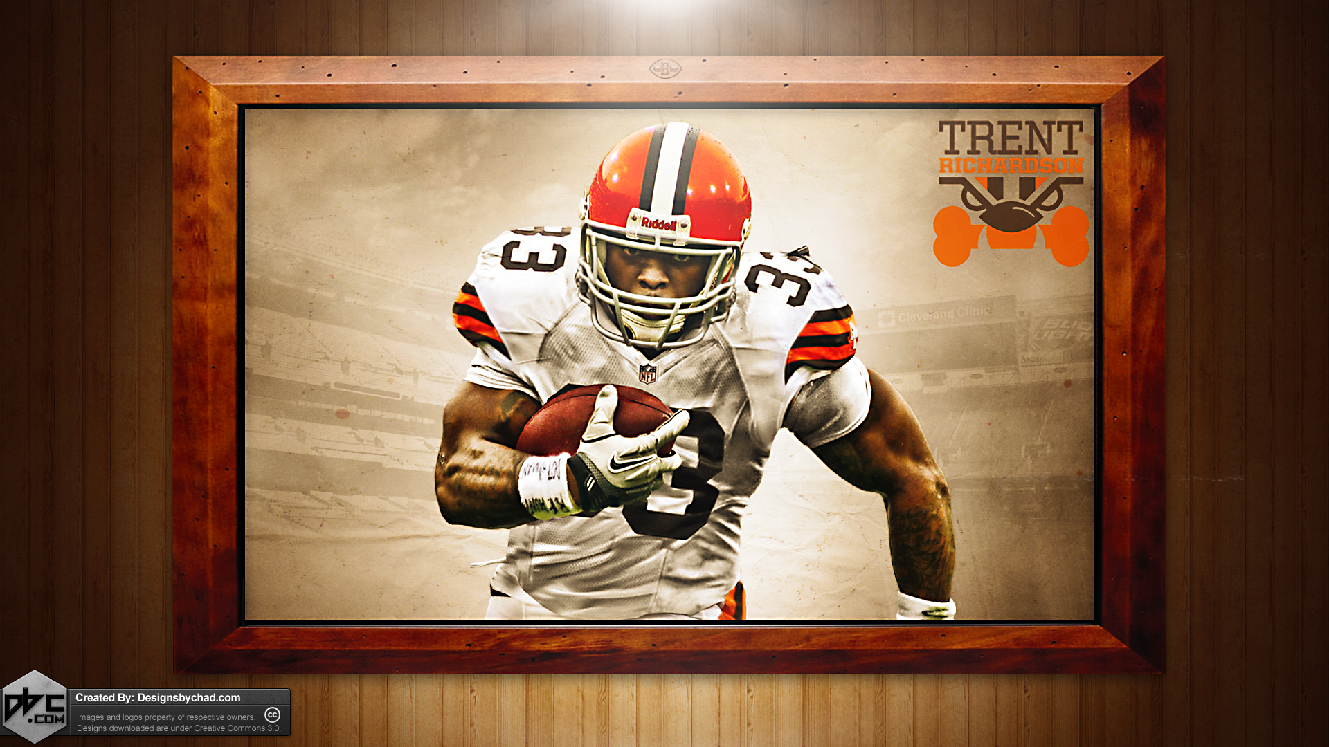 richardson browns hd wallpaper by chadski51 customization wallpaper 1920x1080