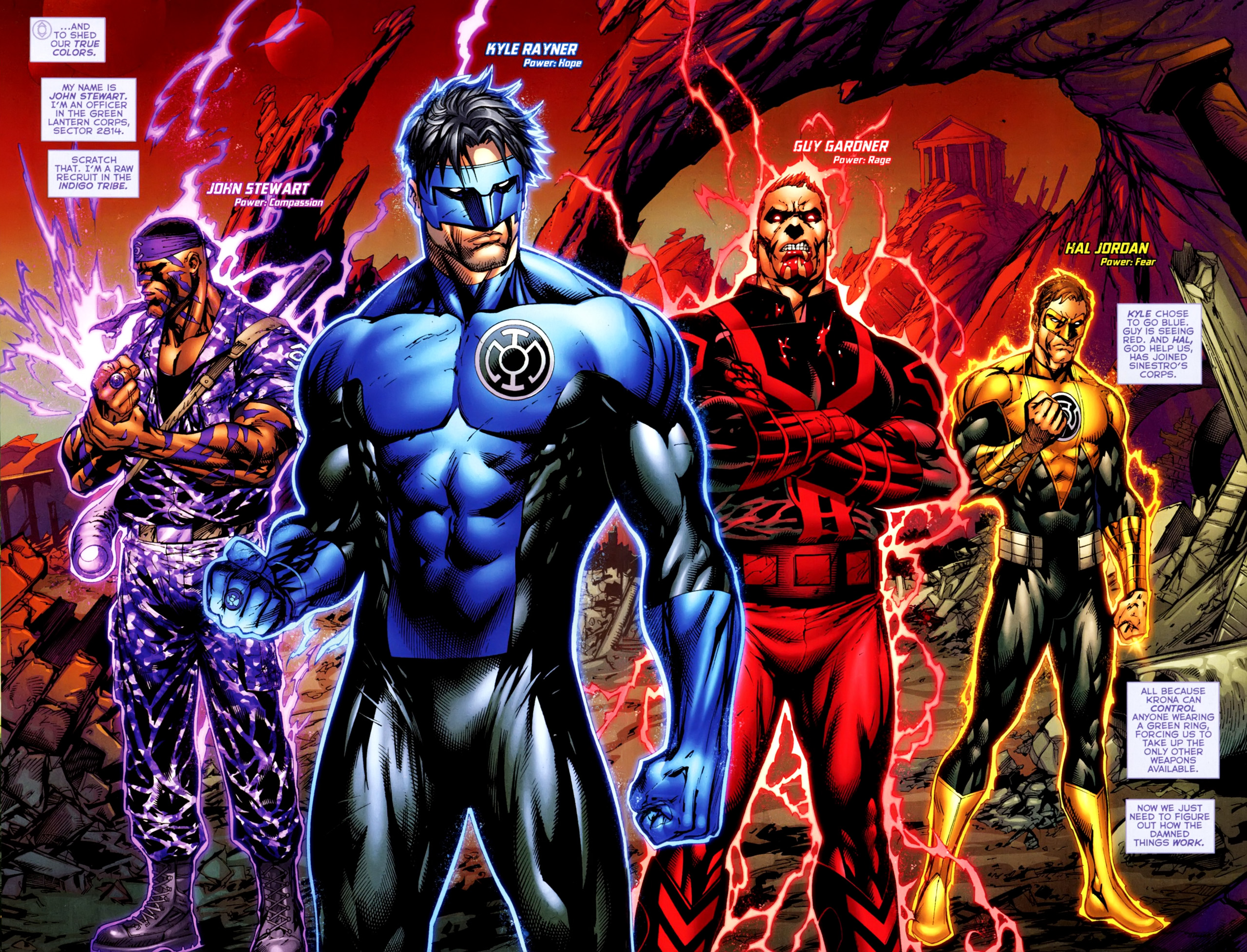 Blue Lantern Corps wallpapers Comics HQ Blue Lantern Corps 2560x1955