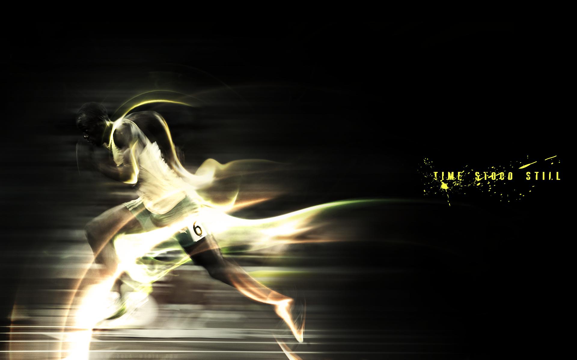 Bolt Running Wallpapers Download Usain Bolt Running Backgrounds 1920x1200