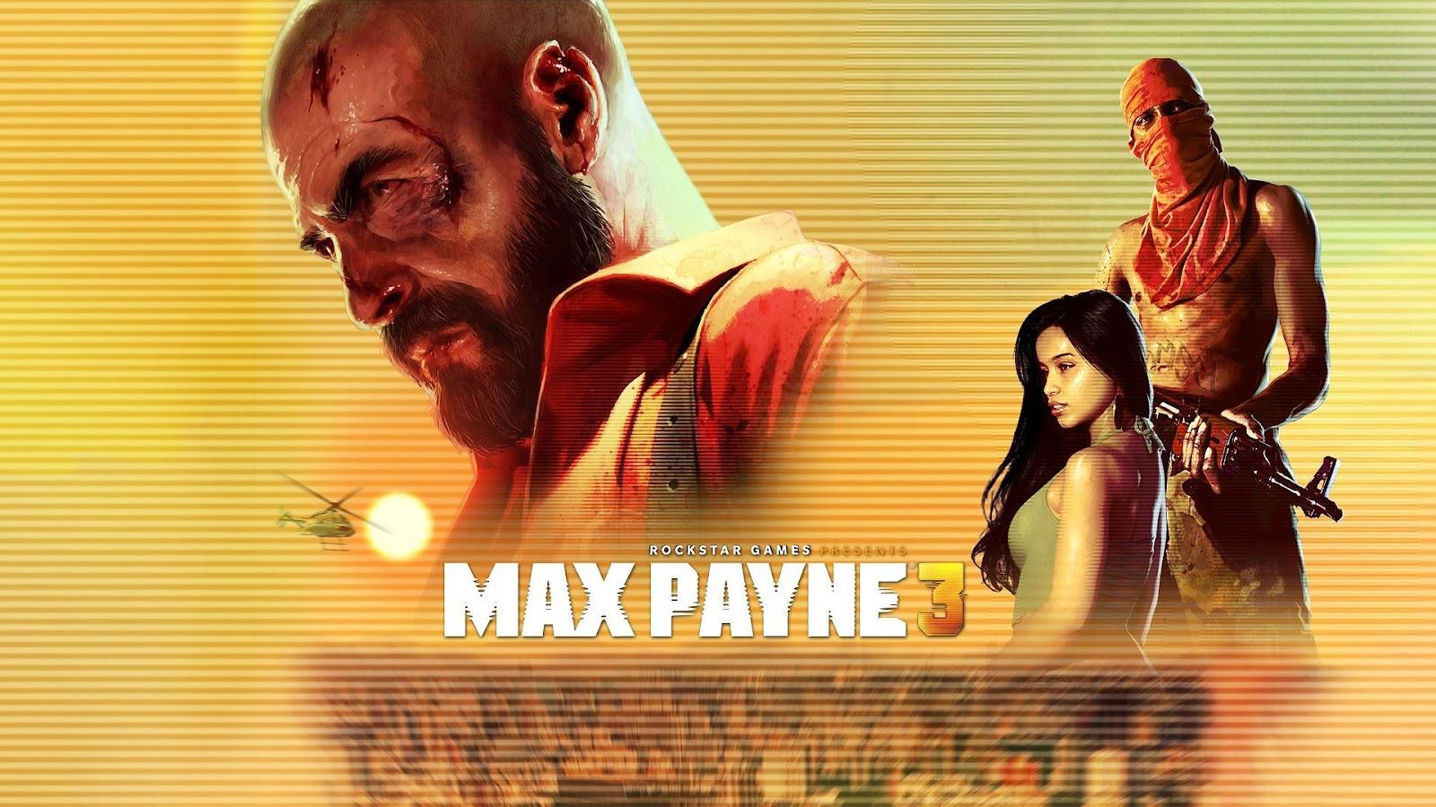 Max Payne 3 achtergrond HD Max Payne wallpaper 1600x900