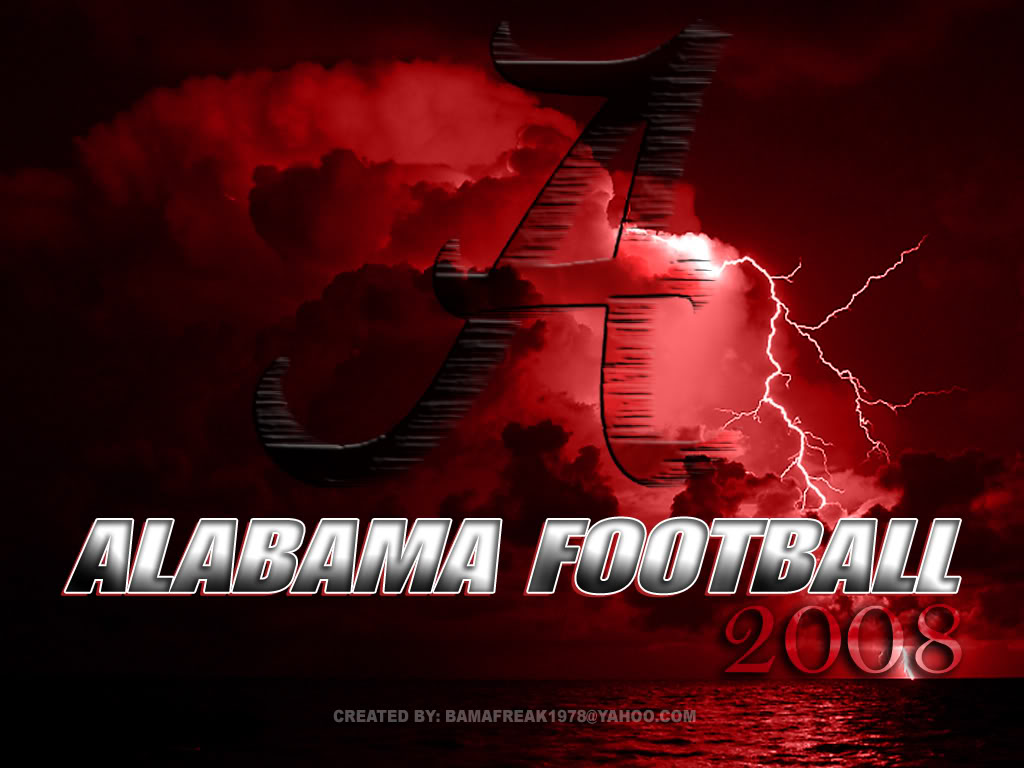 right click Alabama Football image and save image as click save 1024x768