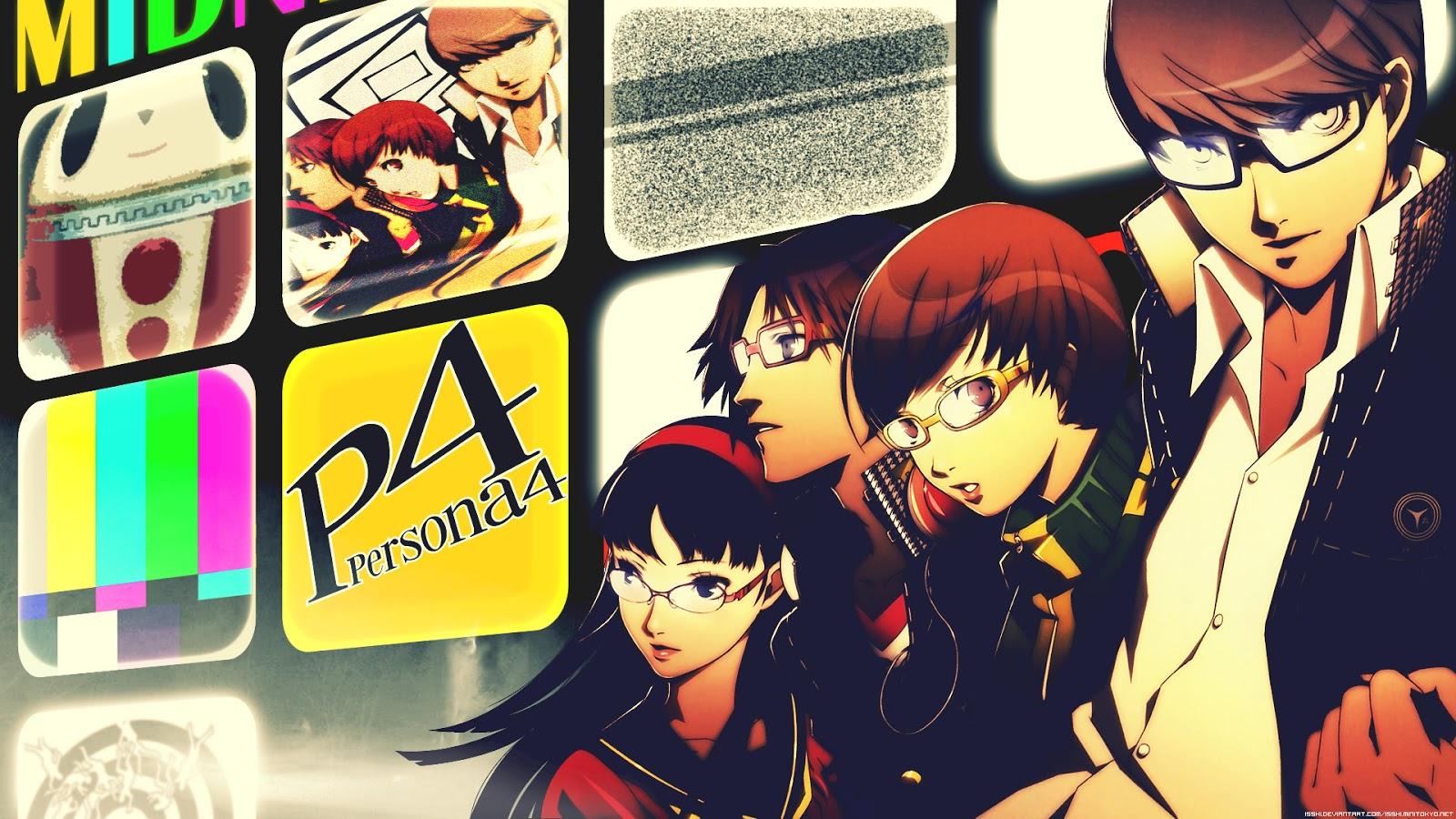 Free download Chie Satonaka P4 Persona 4 Anime HD Wallpaper