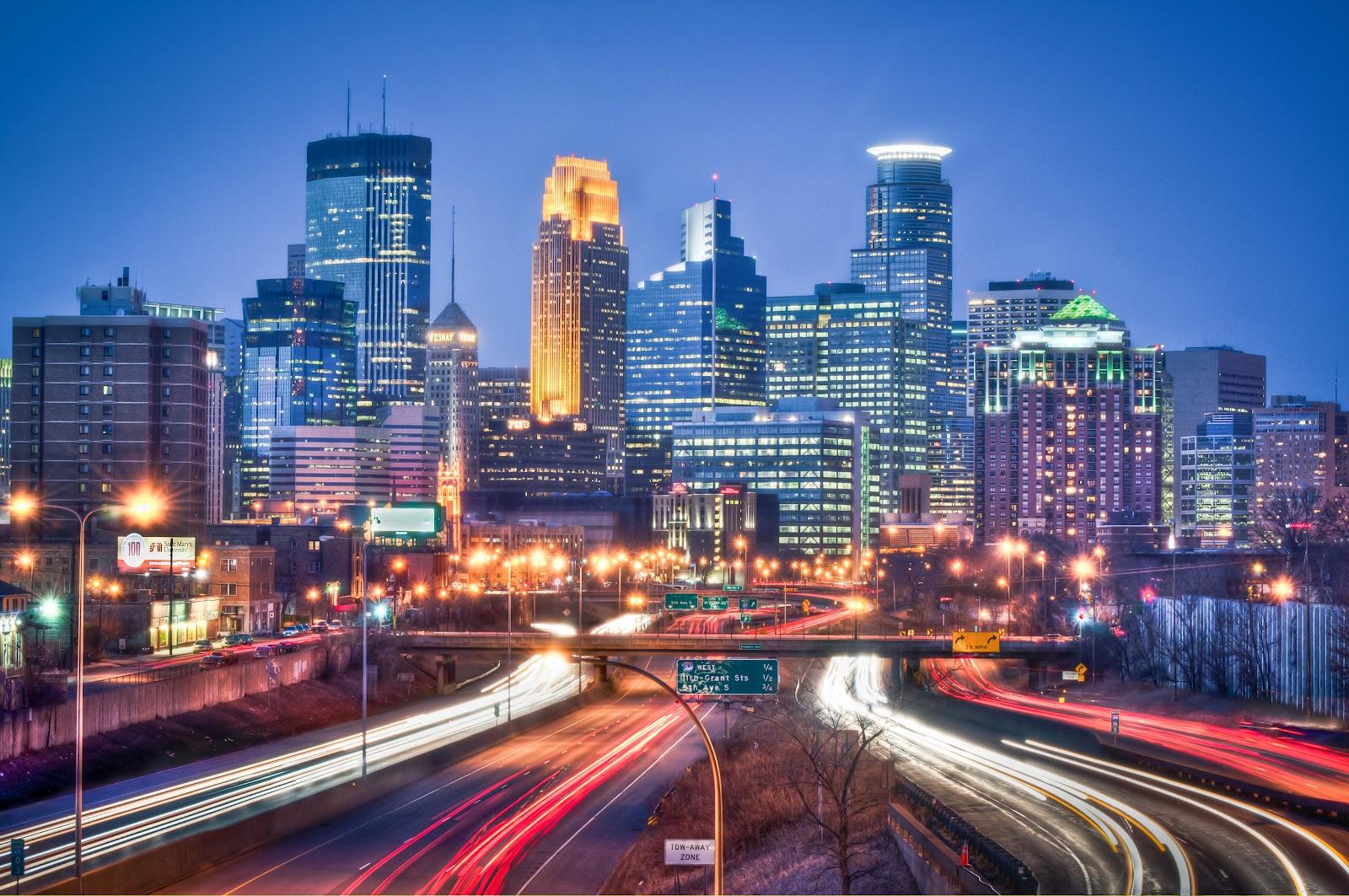 Minneapolis Skyline Wallpaper Wallpapersafari HD Wallpapers Download Free Images Wallpaper [1000image.com]