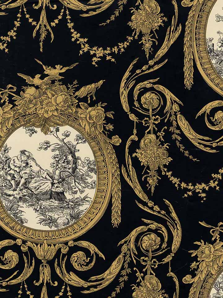 Free download Waverly Wallpaper Toile purequocom [720x960 ...