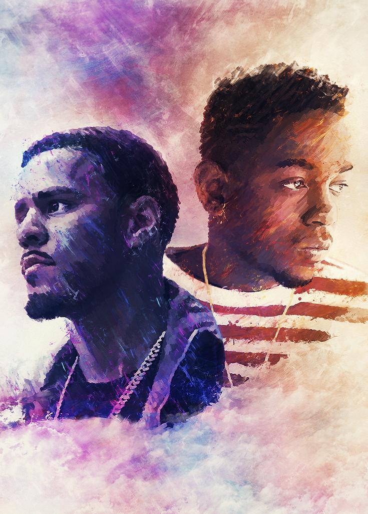 Cole Kendrick Lamar by Volture 735x1026