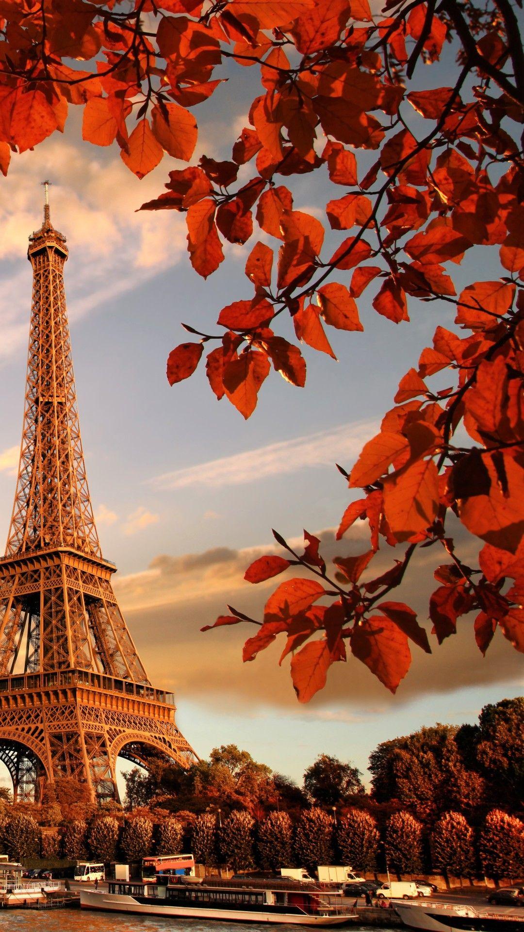Free Download Eiffel Tower In Autumn France Paris Apple Iphone 6 Hd Wallpapers 1080x1920 For Your Desktop Mobile Tablet Explore 32 Paris City Wallpapers Paris City Wallpapers Wallpaper Of