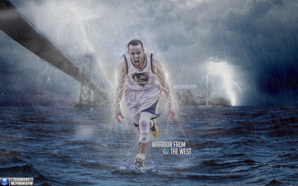 Stephen Curry Warrior From West Wallpaper by ClydeGraffix on 1024x640