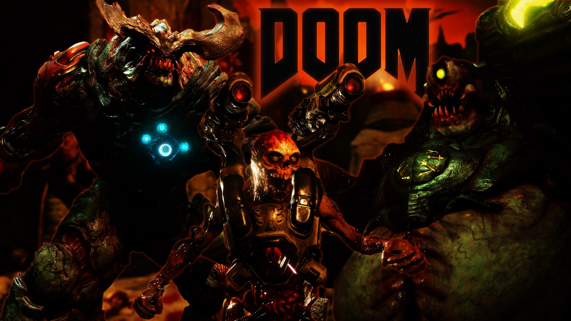 doom 2016 wallpaper 1080p
