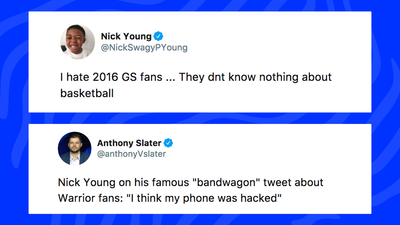 Nick Youngs tweets making fun of Warriors fans resurface 1600x900