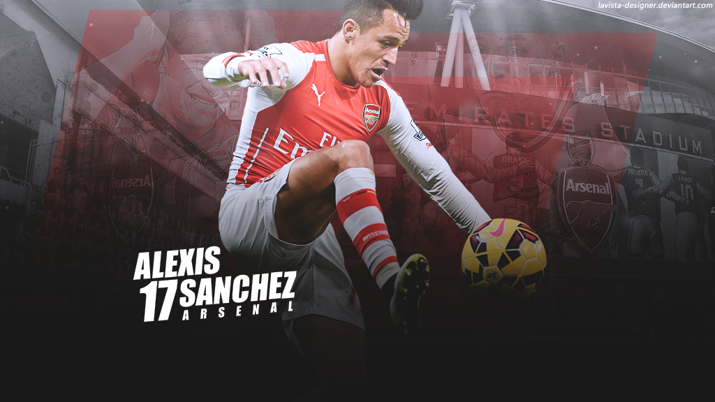 Free Download Alexis Sanchez 2015 Wallpaper By Lavista