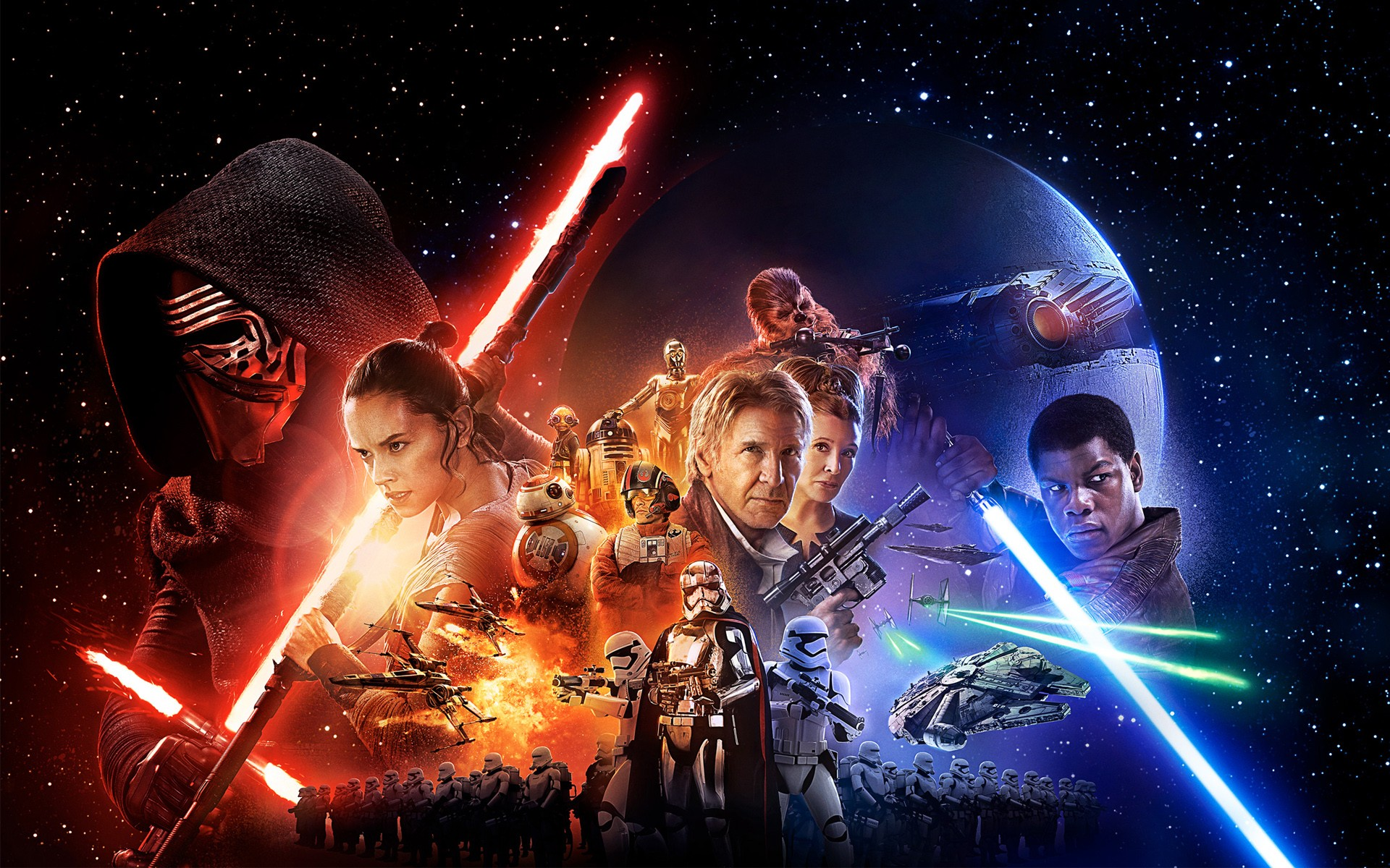 Star Wars Episode vii The Force Awakens Movie   New HD Wallpapers 1920x1200