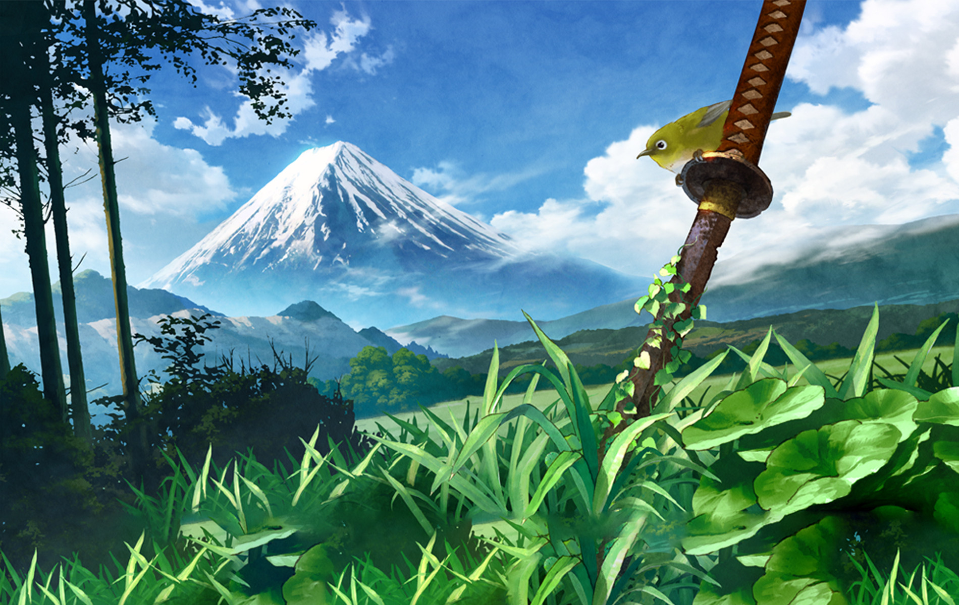 Anime Landscape Wallpaper HD 1900x1200
