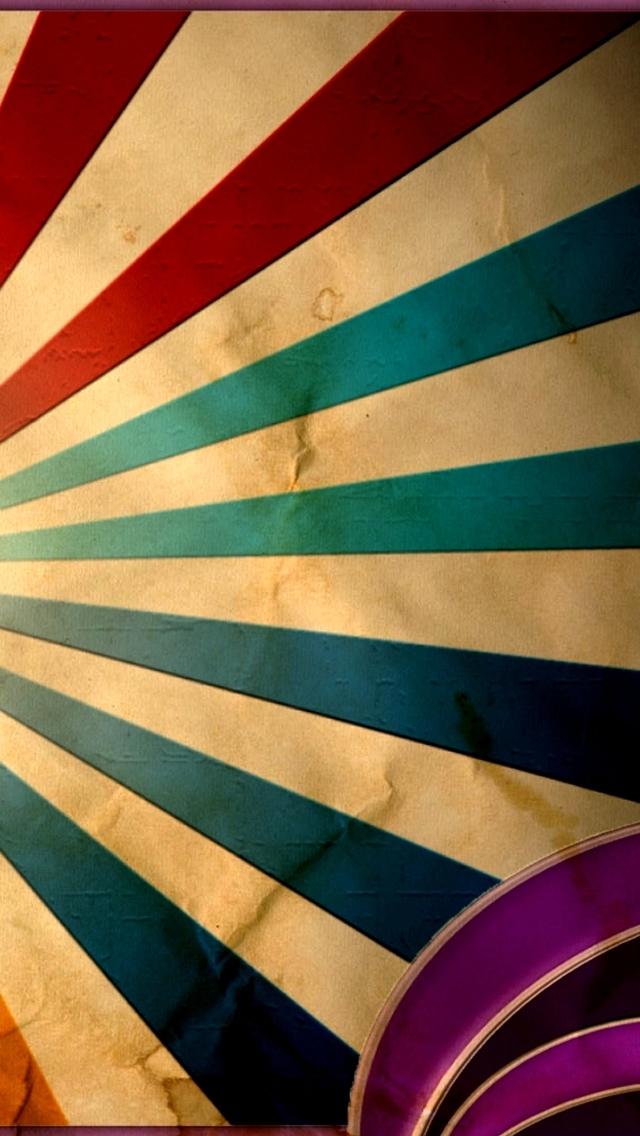 Retro paper iPhone 5s Wallpaper Download iPhone Wallpapers iPad 640x1136