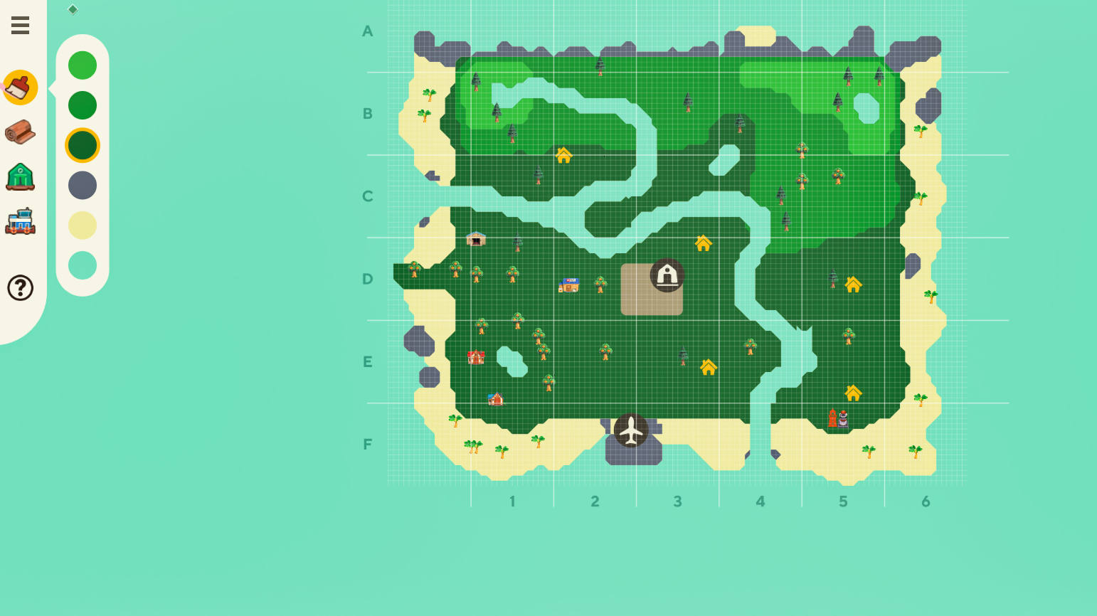 Try out the Animal Crossing New Horizons map editor prior to March 1542x866