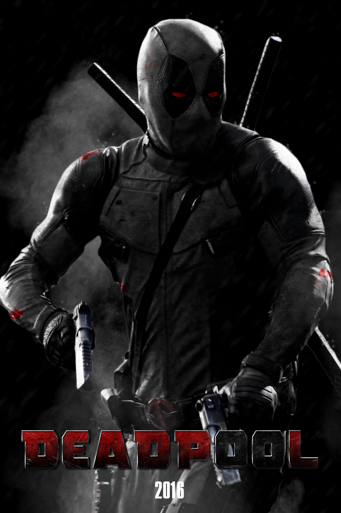 DEADPOOL X Force Suit   POSTER by MrSteiners 682x1024