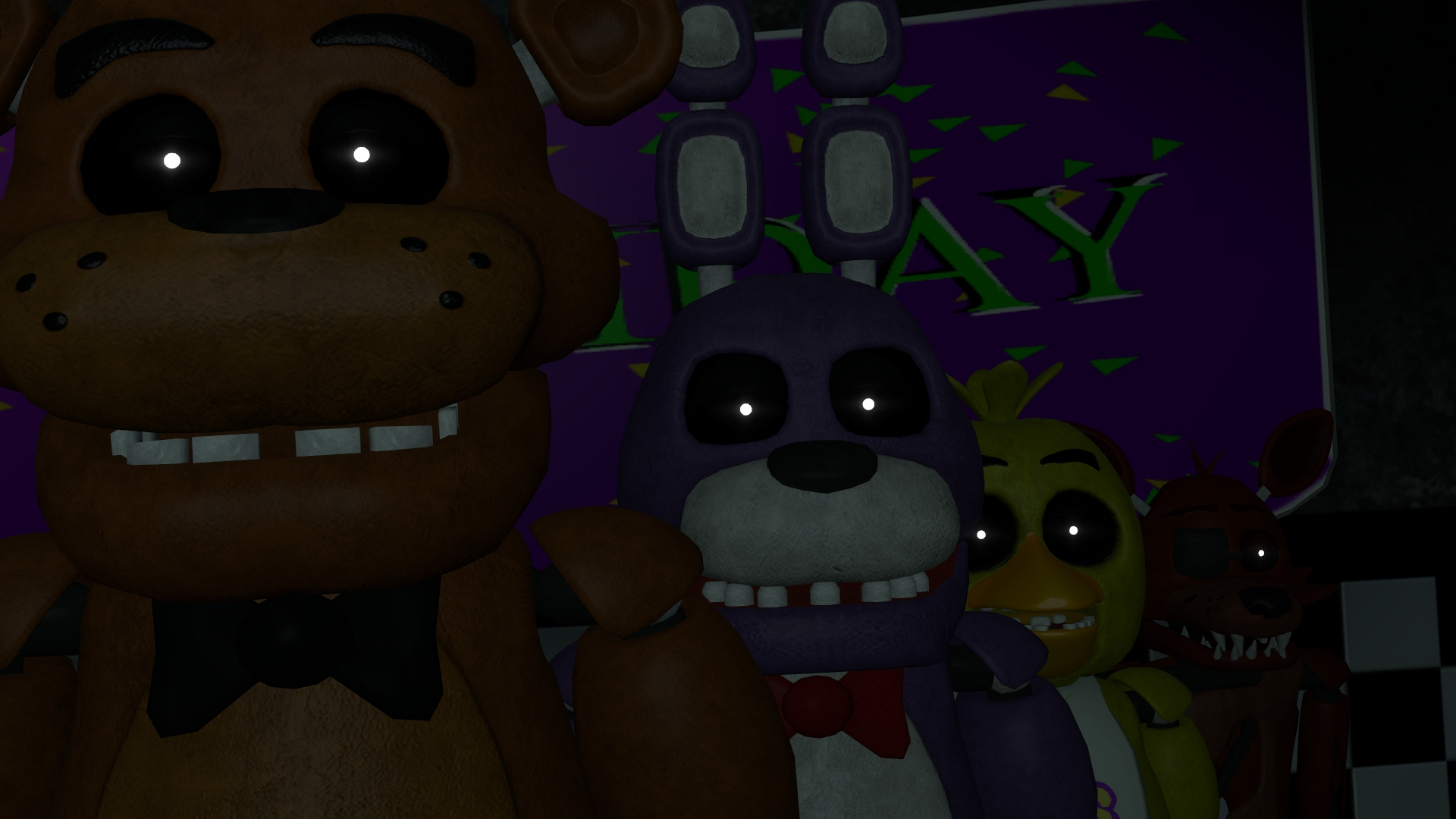 fnaf wallpaper A by datfurryoverthere 1920x1080
