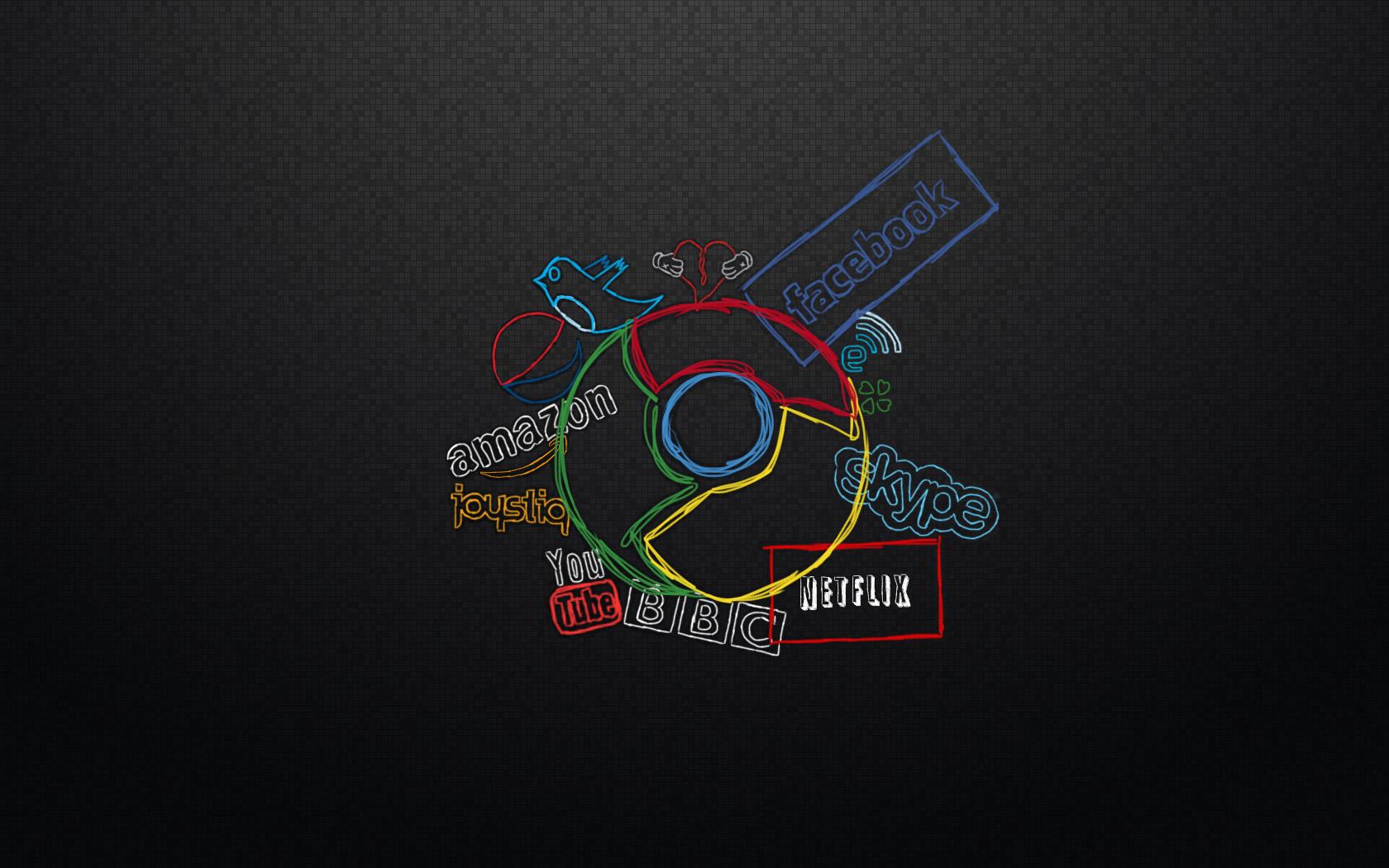 Google chrome themes gallery 2012 - Chrome Social Wallpapers Google Chrome Social Myspace Backgrounds
