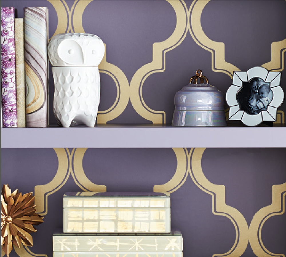 Devine It Yourself at Target   Devine Color Trellis Wallpaper 1000x898