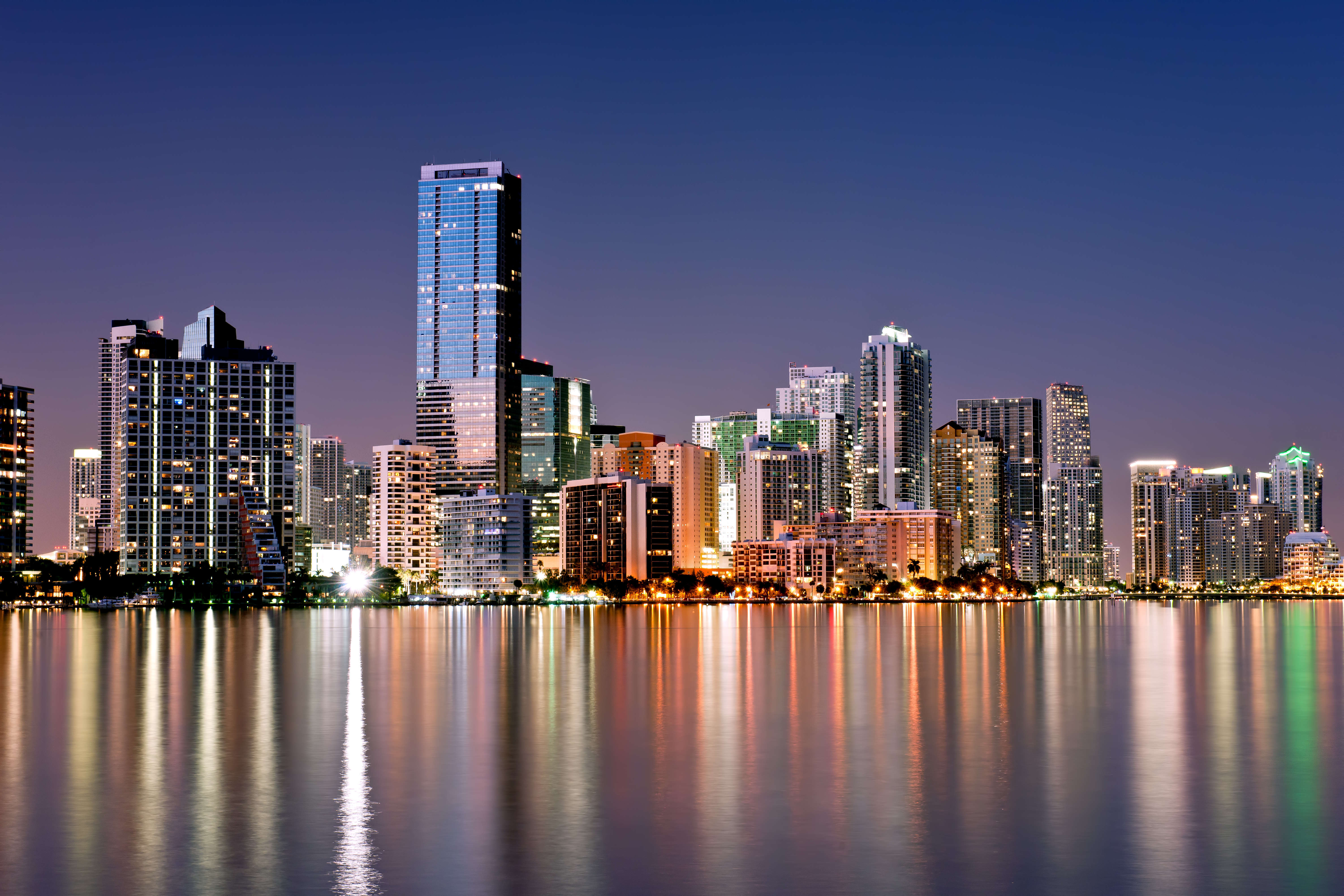 Miami Skyline Exclusive HD Wallpapers 4741 6000x4000