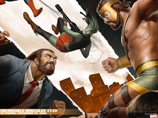 Incredible Hercules 2008 139 Wallpaper Marvel Heroes Wallpapers 550x412