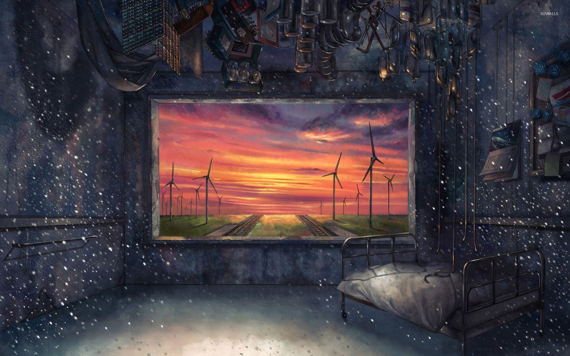 Prison like room wallpaper   Anime wallpapers   30766 1920x1200
