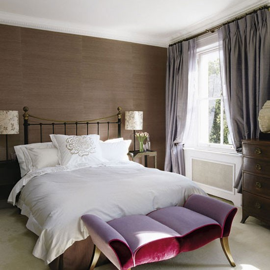 Bedroom Take a tour around a 19th century London terrace house tour 550x550